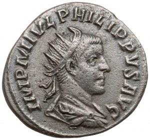 Filip I Arab (244-249 n.e.) Antoninian, Rzym - 1000 lat Rzymu