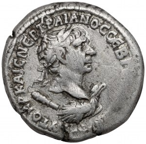 Trajan (98-117 n.e.) Tetradrachma, Antiochia