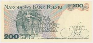 200 złotych 1988 - EE - numer radarowy - 0800080