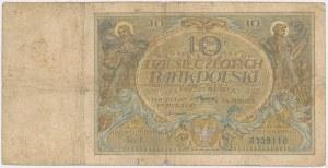 10 złotych 1926 - Ser.X - daty w znaku wodnym
