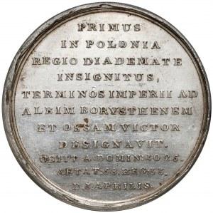 Medal SUITA KRÓLEWSKA - Bolesław Chrobry - SREBRO - piękny