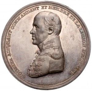 Księstwo Warszawskie, Medal Boisser, KALISZ - ex. Karolkiewicz - piękny i RZADKI