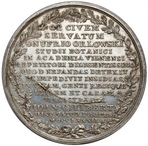 Poniatowski, Medal 1782, Onufry Orłowski - 1 z 5 - RZADKOŚĆ