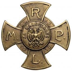 Pamiątkowy Krzyż ZA WALECZNOŚĆ Rady Ludowej Miasta Poznania