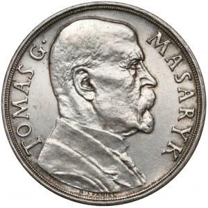Czechosłowacja, Medal, 85-rocznica urodzin Tomasa Masaryka 7.III.1935