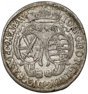 Saschen, Johann Georg IV, 1/12 taler 1693 - Keine Initialen