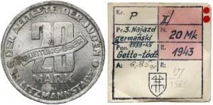 Getto Łódź, 20 marek 1943 - ex. Kałkowski - PIĘKNE