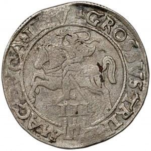 Zygmunt II August, Trojak Wilno 1562 - SZEROKI - rzadki