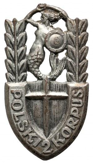 Odznaka, 2 Korpus Polski