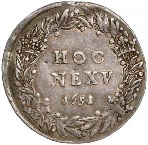 Jan II Kazimierz, Medal Bitwa pod Beresteczkiem 1651 - rzadki