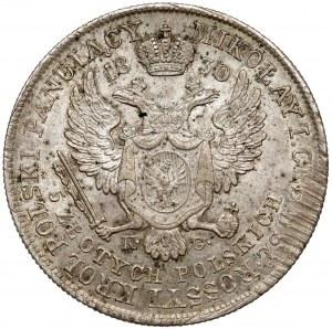 5 złotych polskich 1830 KG - Gronau - b.ładne