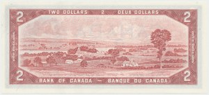 Canada, 2 Dollars 1954- replacement