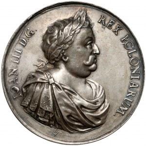 Jan III Sobieski, Medal Zwycięstwo pod Wiedniem 1683 (Höhn) RZADKI