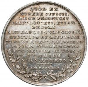 Poniatowski, Medal Stanisław Lubomirski 1771 - bez laski - rzadki
