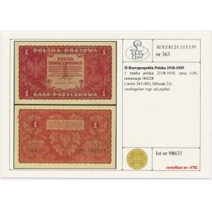 Zestaw marki z złotówki 1919-1941 (3szt)