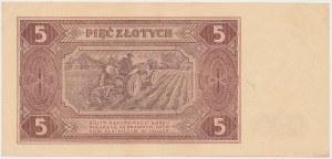 5 złotych 1948 - AH