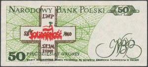 Solidarność, 50 groszy 1982 - Jaruzelski