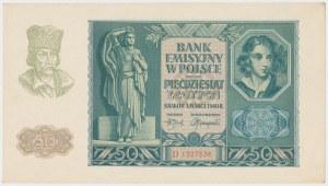 50 złotych 1940 - D