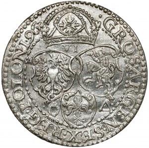 Zygmunt III Waza, Szóstak Malbork 1596 - piękny