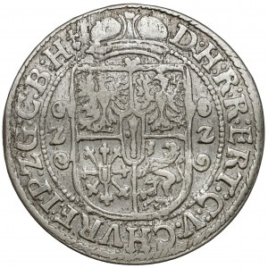 Prusy, Jerzy Wilhelm, Ort Królewiec 1622 - znak na Aw. i Rw.