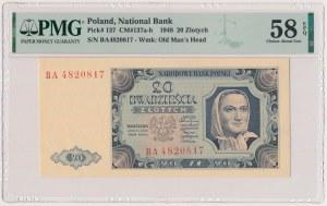 20 złotych 1948 - BA