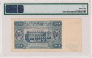20 złotych 1948 - A