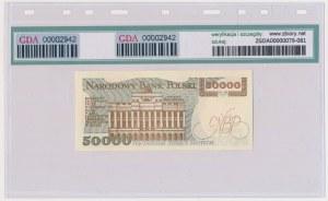 50.000 złotych 1989 - T