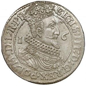 Zygmunt III Waza, Ort Gdańsk 1624 - bardzo ładny