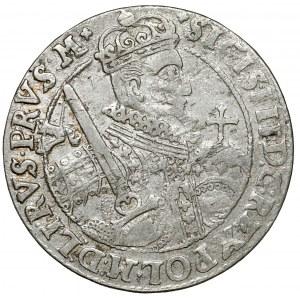 Zygmunt III Waza, Ort Bydgoszcz 1623 - PRVS M - gwiazdki na Rw.