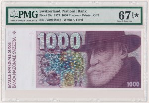 Switzerland, 1.000 Franken 1977