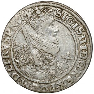 Zygmunt III Waza, Ort Bydgoszcz 1622 - PRV M - jak