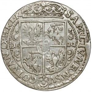 Zygmunt III Waza, Ort Bydgoszcz 1622 - PRV M - jak II DD