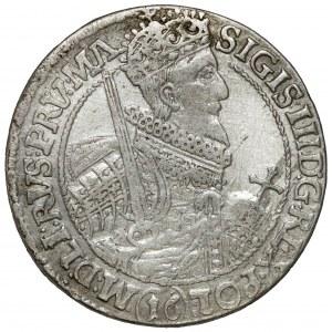 Zygmunt III Waza, Ort Bydgoszcz 1621 - (16) - proste labry