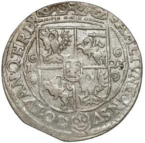 Zygmunt III Waza, Ort Bydgoszcz 1623 - PRV M - typ II - krótkie