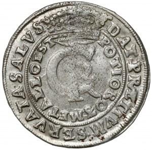 Jan II Kazimierz, Tymf Bydgoszcz 1665 AT - bardzo ładny