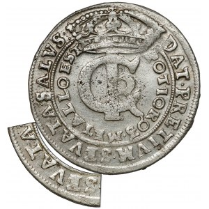 Jan II Kazimierz, Tymf Bydgoszcz 1666 AT - błąd SEVATA - rzadki