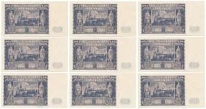 20 złotych 1936 - CH - zestaw (9szt)