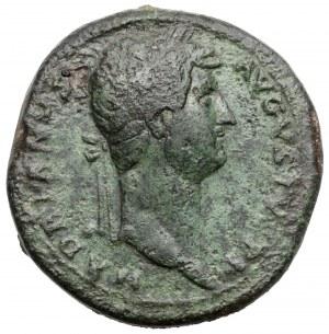 Hadrian (117-138 n.e.) Sesterc - Hilaritas