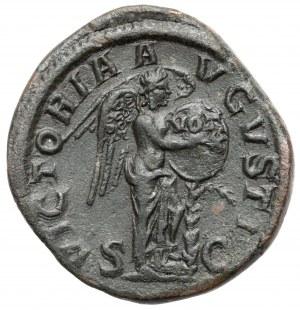 Aleksander Sewer (222-235 n.e.) Sesterc - Wiktoria