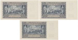 20 złotych 1940 - N (3szt)