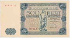 500 złotych 1947 - B
