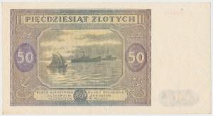 50 złotych 1946 - duża litera