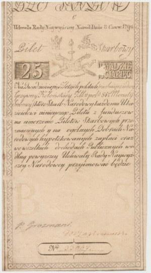 25 złotych 1794 - C