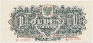 1 złoty 1944 ...owym - EO