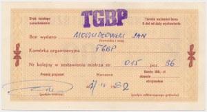 PWPW, Bon wymienny Funduszu Mistrzowskiego - 100 zł 1982 na Jana Moczydłowskiego