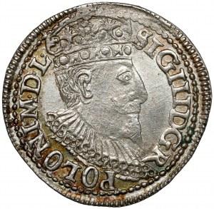 Zygmunt III Waza, Trojak Olkusz 1596 - b.ładny