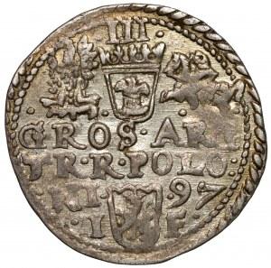 Zygmunt III Waza, Trojak Olkusz 1597