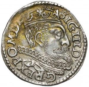 Zygmunt III Waza, Trojak Poznań 1599 - krzyżyki
