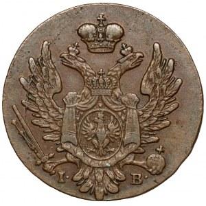 1 grosz polski 1823 I.B. z MIEDZI KRAIOWEY