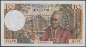 France, 10 Francs 1968